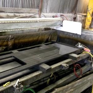 Производство столешниц из сланца Welsh Slate, Великобритания