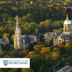 Notre Dame University Notre Dame, IN - Welsh Slate Purple