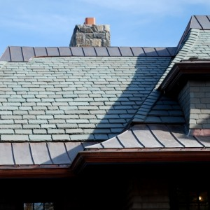 Американская сланцевая крыша Graduated Length
