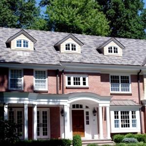 Американская сланцевая крыша из плитки одинакового размера
