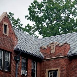 Американская сланцевая крыша Random width