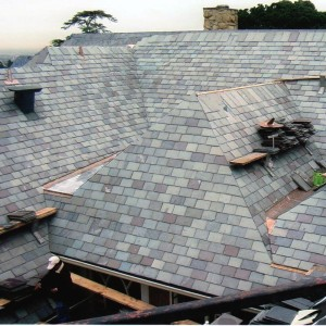 Каменная крыша в США - Сланец