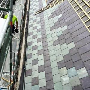 Сланец Welsh Slate Penrhyn и зеленый Welsh Slate unfading Green - Крыша в Новой Зеландии