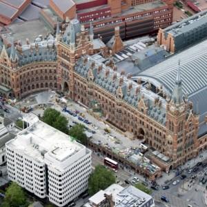 Вокзал St Pancras гостиницаRenaissance London Hotel , Лондон, Англия