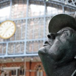 Вокзал St Pancras, Лондон, Англия