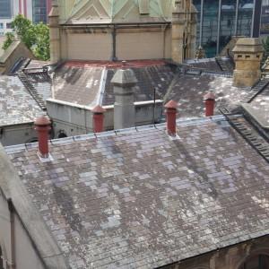 Китайский сланец на крыше в Австралии