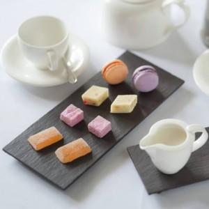 Английская сланцевая посуда - Маленькая сервировочная тарелка из коллекции Slateware Fine