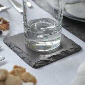 Сланцевая подставка под чашку, стакан - Коллекция Slateware Dressed